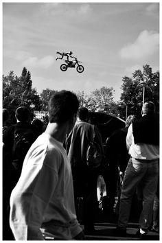 Feeling a little out of control?      flying #motorcycle #motorbike #bike #cross #moto  #vintage #motorbike    #menswear #style  www.eff-style.com