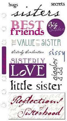 Sisters famili, sister stuff, sissi, sweet quot, thing