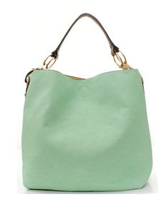 Everyday Misha Tote in Warm Mint
