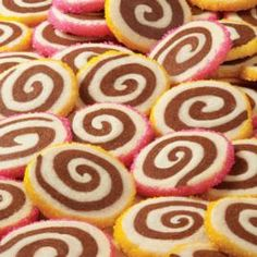 How to make Pinwheel Cookies.
