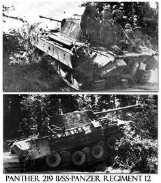 12th SS-Hitlerjugend Division Panther in Normandy