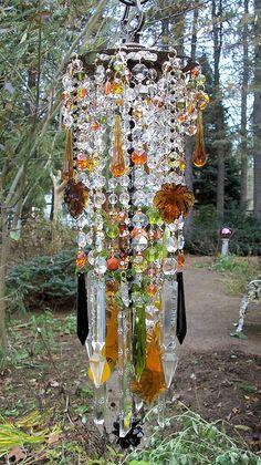 crystals, autumn magic, crystal dream, magic antiqu, crystal wind, wind chimes, antiqu crystal, suncatch, antiques