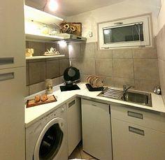 basement kitchen...but needs stove