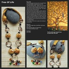 Art Bead Scene Blog: Kaushambi Shah's includes the inspirational photo, photo narrative, materials and techniques used, and any credits due for artist made art beads, components, etc.  You can see the design & colors in the inspirational photo repeated in her necklace.