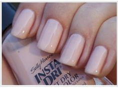 salli hansen, nude nails, nail polish, makeup collection, pink nails, nail colors, summer nails, makeup tool, color trends