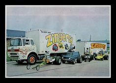 """Zingers"" Show Cars, 1973"