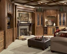 BKC Kitchen & Bath built-ins: Medallion Cabinetry, Rushmore door style