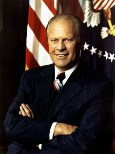 Gerald Ford was the 38th President of the United States and the first President who was also an Eagle Scout.