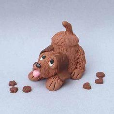 Hound Dog miniature cookie jar