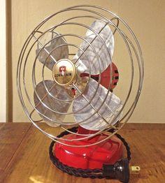fan club, vintage, colors, fans, electr industri, vintag coast, industri fan, garage sales, coast electr