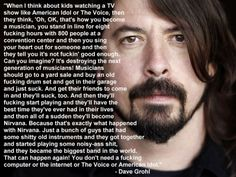 I absolutely adore this man. Amazing quote about music.