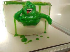 Ghost Busters Cake, Slimer