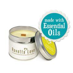 Lemongrass Essential Oils - made with 100% Pure, all-natural Lemongrass Guatemalan Essential Oil. (£8.90 from Etsy)