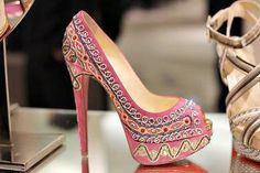 Louboutin Bollywood in pink!