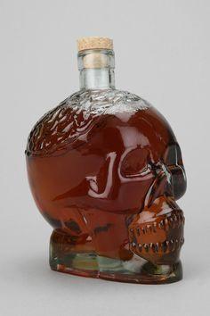 Glass Skull Decanter