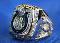Indianapolis Colts Super Bowl ring