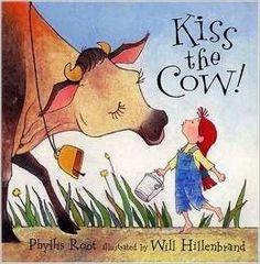 Picture Books: Kiss the Cow! kiss, pictur book, picture books, zoo book, children book