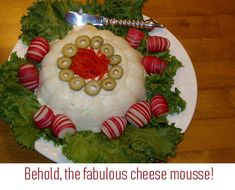 Yes, it's cheese and jello...