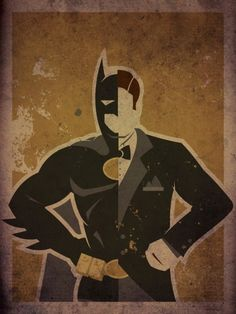 BAT   man illustration