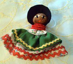 Vintage Seminole Doll, on Etsy at RetroRosiesVintage