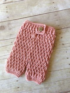 Free Crochet Pattern For Baby Pants : Crochet for Babies