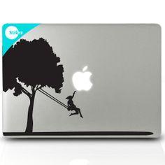 MAC DECAL vinyl laptop stickers Wall Computer Geekery by stikrz, $9.98
