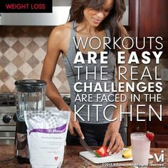 Your results are heavily determined by what you eat!  Eat Clean….the results will be worth it!     Photo from ViSalus