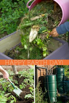 Happy Earth Day! 10 Ways To Green-Up Your Garden --> http://www.hgtvgardens.com/10-ways-to-green-your-garden-for-earth-day?soc=pinterest