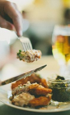Country Fried Chicken Strips get an upgrade with Stella Artois in the batter