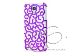 Hollow Vine Series Samsung Galaxy S4 Electroplate Case i9500 - Purple     http://www.dsstyles.com/samsung-galaxy-s4-cases/hollow-vine-series-samsung-galaxy-s4-electroplate-case-i9500-purple-2.html
