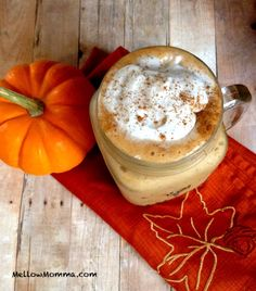 #pumpkin #frappuccino #coffee #recipe