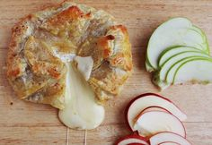 Baked Brie with Apples Recipe by A Beautiful Mess