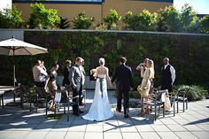 Real Weddings: Alexis and Eddie's Chic $4000 Portland Hotel Wedding with 20 guests