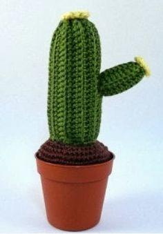 Crochet Cactus Pincushion Free Pattern : Cactus Pincushion Amigurumi - little knitted things ...