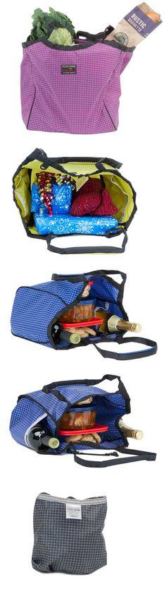 Reusable Shop Bag. Made in USA.