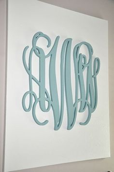 monogram canvas