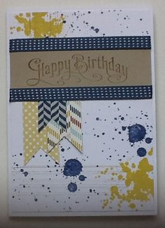 Stampin up gorgeous grunge
