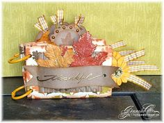 Thanksgiving mini album made with tp rolls!