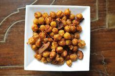 Smoky Fried Chickpeas