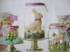 Wonderful Gift Idea~ Love mason jars!!!    http://diycraftyfood.blogspot.com/2012/01/mason-jar-easter-candy.html