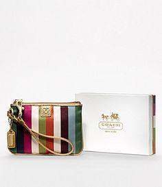 Coach Julia Legacy Small Wristlet: $48 #Handbag #Coach