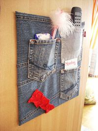 Recycle Old Blue Jeans