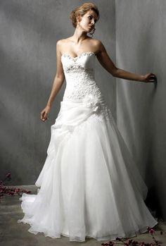 wedding dressses, idea, white wedding dresses, stuff, dream, white weddings, gown, bride, elegant wedding