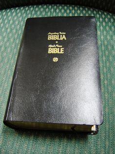 Tagalog - English Diglot Bible / TPV - TEV / Tagalog Popular Version