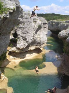 Would like to go here...The Narrows. It is in the Texas Hill Country on the Hays/Blanco County line where a coral reef once thrived in land covered by an ocean that is now dry and frozen in time.