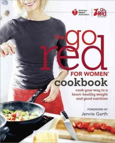 Cookbook with heart healthy recipes