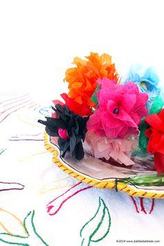 5-Minute Crepe Paper Flowers - diycandy.com