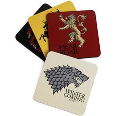 Game of Thrones Coasters $8.99