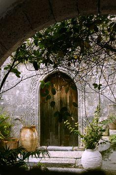 Traditional courtyard - Lindos Village, Rhodes | byDimitris Katsaras