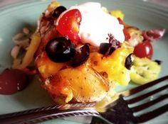 Loaded Smashed Salt Potatoes - perfect for #fathersday #recipe
